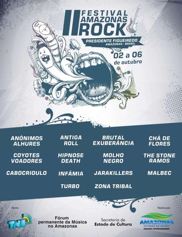 Resultado do II Festival Amazonas Rock